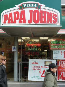 Papa John's Pizza Is Sued