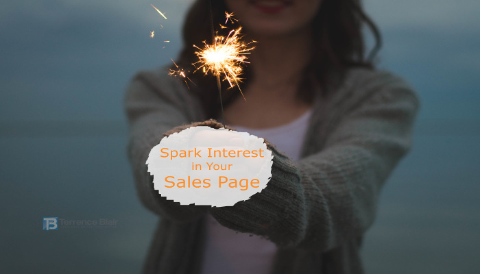 A Simple Way to Spark Interest in Your Sales Page