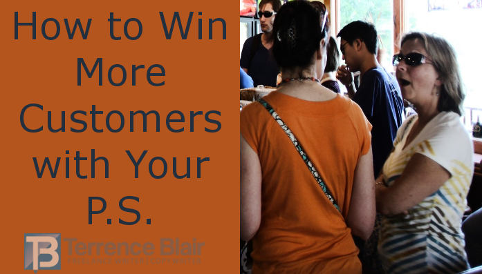 How to win more customers with your P.S.